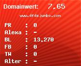 Domainbewertung - Domain www.dfdsjumbo.com bei domainwert1.de