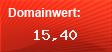 Domainbewertung - Domain www.strategie-erfolg.com bei domainwert1.de