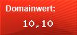 Domainbewertung - Domain www.ebesucher.org bei domainwert1.de