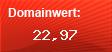 Domainbewertung - Domain www.in-vogue.de bei domainwert1.de
