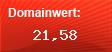 Domainbewertung - Domain www.inventer-system.de bei domainwert1.de