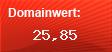 Domainbewertung - Domain www.branchen4u.de bei domainwert1.de