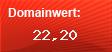 Domainbewertung - Domain lichtnamen.de bei domainwert1.de