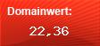 Domainbewertung - Domain leuchtnamen.de bei domainwert1.de