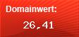Domainbewertung - Domain www.singelboersen-test.de bei domainwert1.de