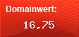 Domainbewertung - Domain www.cityprint-werbetechnik.de bei domainwert1.de