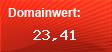 Domainbewertung - Domain www.itstore.lu bei domainwert1.de
