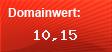 Domainbewertung - Domain www.blitz-mailtausch.de bei domainwert1.de