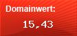 Domainbewertung - Domain www.heim-edv.de bei domainwert1.de