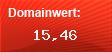 Domainbewertung - Domain www.temperatur-warnsysteme.de bei domainwert1.de