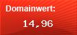 Domainbewertung - Domain wienimmtmanschnellab.net bei domainwert1.de