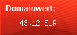 Domainbewertung - Domain www.domainbewertung.de.com bei domainwert1.de