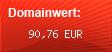 Domainbewertung - Domain lea-becker.de bei domainwert1.de