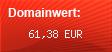 Domainbewertung - Domain bodenreiniger.info bei domainwert1.de