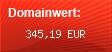 Domainbewertung - Domain www.besucher.eu bei domainwert1.de
