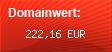 Domainbewertung - Domain www.rund-ums-motorrad.com bei domainwert1.de