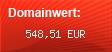 Domainbewertung - Domain www.harz-urlaub.de bei domainwert1.de