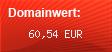 Domainbewertung - Domain www.sales-force.de bei domainwert1.de