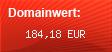 Domainbewertung - Domain www.24besucher.eu bei domainwert1.de