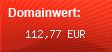 Domainbewertung - Domain www.uhlala.de bei domainwert1.de