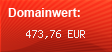 Domainbewertung - Domain produktvergleichen.com bei domainwert1.de
