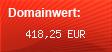 Domainbewertung - Domain schlagerwolf.com bei domainwert1.de