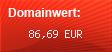 Domainbewertung - Domain www.luxlife.de bei domainwert1.de