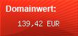 Domainbewertung - Domain www.hammertausch.de bei domainwert1.de