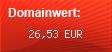 Domainbewertung - Domain www.ausgefallene-geschenkideen.biz bei domainwert1.de