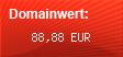 Domainbewertung - Domain www.wobado.de bei domainwert1.de