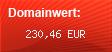 Domainbewertung - Domain www.quads-world.com bei domainwert1.de