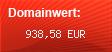 Domainbewertung - Domain www.selbstaendig-im-netz.de bei domainwert1.de