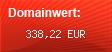 Domainbewertung - Domain www.singlesucht.com bei domainwert1.de