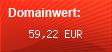 Domainbewertung - Domain casino-filiale.de bei domainwert1.de