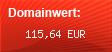 Domainbewertung - Domain www.partnervermittlung123.de bei domainwert1.de
