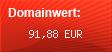 Domainbewertung - Domain your-foto.de bei domainwert1.de