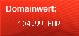 Domainbewertung - Domain www.mybesucher.de bei domainwert1.de