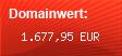 Domainbewertung - Domain www.knuddels.de bei domainwert1.de