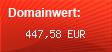 Domainbewertung - Domain www.webkatalog2000.com bei domainwert1.de