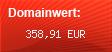Domainbewertung - Domain www.vipsundpromis.com bei domainwert1.de