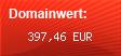 Domainbewertung - Domain www.herzstueck.eu bei domainwert1.de