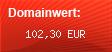 Domainbewertung - Domain www.auftragsalarm.de bei domainwert1.de