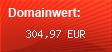 Domainbewertung - Domain bizlocalsearch.com bei domainwert1.de