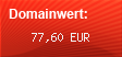 Domainbewertung - Domain www.dance-moon.de bei domainwert1.de