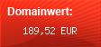 Domainbewertung - Domain www.kindertrend.de bei domainwert1.de