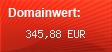 Domainbewertung - Domain www.date4asia.com bei domainwert1.de