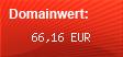 Domainbewertung - Domain www.der-webkatalog.net bei domainwert1.de