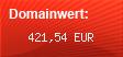 Domainbewertung - Domain www.bc-ismaning.de bei domainwert1.de