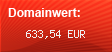 Domainbewertung - Domain www.creditnet.at bei domainwert1.de