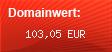 Domainbewertung - Domain www.kometenreise.de bei domainwert1.de